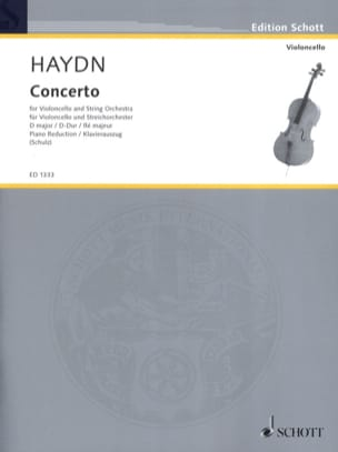 HAYDN - Violoncello-Konzert D-Dur Hob. 7b: 4 - Sheet Music - di-arezzo.co.uk