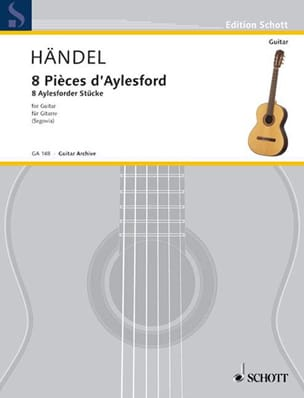 Georg F. Haendel - 8 Aylesford Pieces - Guitare - Partition - di-arezzo.fr