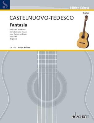 Mario Castelnuovo-Tedesco - Fantasia op. 145 – Gitarre Klavier - Partition - di-arezzo.fr
