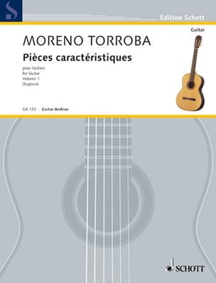 Federico Moreno-Torroba - Characteristic parts - Bd. 1 - Sheet Music - di-arezzo.co.uk
