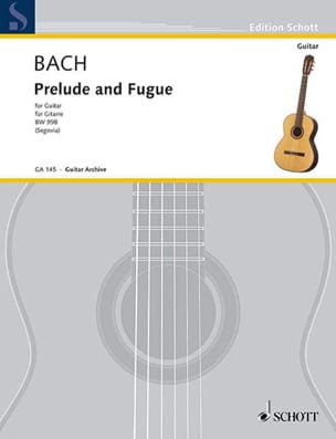 BACH - Prelude and Fuge D-Dur BWV 998 - Sheet Music - di-arezzo.co.uk