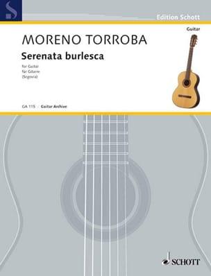 Serenata Burlesca Federico Moreno-Torroba Partition laflutedepan