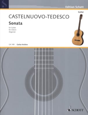 Sonata - Mario Castelnuovo-Tedesco - Partition - laflutedepan.com