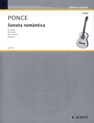 Manuel Maria Ponce - Romantica Sonata - Sheet Music - di-arezzo.co.uk