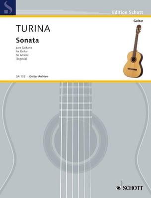 Joaquin Turina - Sonata para Guitarra - Partition - di-arezzo.fr