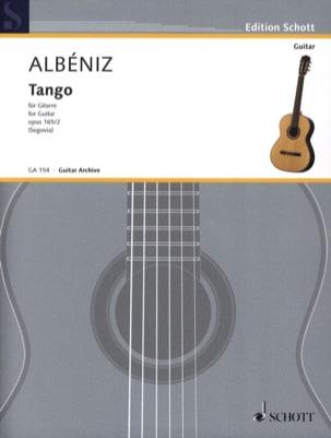 Tango D-Dur op. 165 n° 2 - Isaac Albeniz - laflutedepan.com