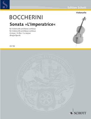 BOCCHERINI - Sonata The Empress in A Major G. deest - Sheet Music - di-arezzo.com