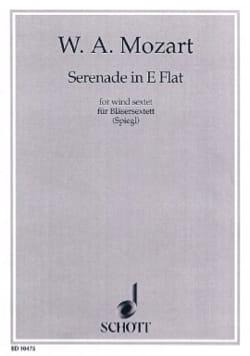 Serenade Es-Dur KV 375 -Bläsersextett - Stimmen MOZART laflutedepan