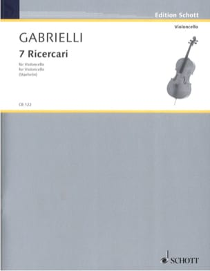 Domenico Gabrielli - 7 Ricercari 1689 - Sheet Music - di-arezzo.co.uk