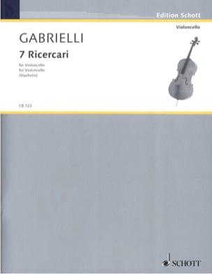 Domenico Gabrielli - 7 Ricercari 1689 - Noten - di-arezzo.de
