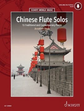 Jonathan Stock - Chinese Flute Solos - Sheet Music - di-arezzo.co.uk