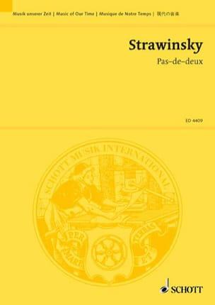 Pas de deux (1921) - Partitur - Igor Stravinsky - laflutedepan.com