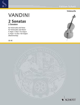 Antonio Vandini - 2 Sonaten F-Dur and G-Dur - Sheet Music - di-arezzo.co.uk