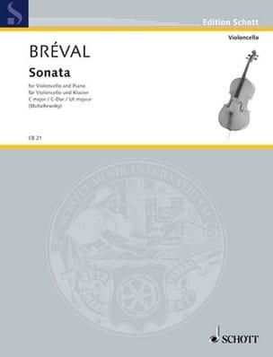 Jean-Baptiste Bréval - Sonata No. 1 In C Major - Sheet Music - di-arezzo.com