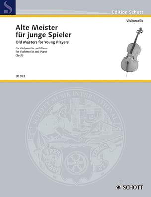 Percy Such - Alte Meister para junge Spieler - Cello - Partitura - di-arezzo.es