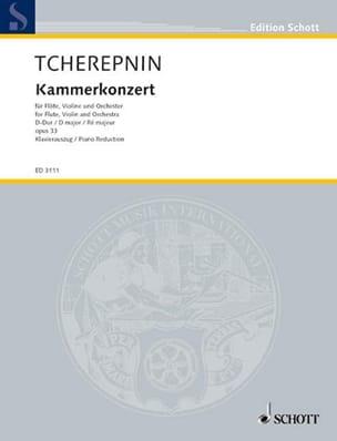 Alexandre Tcherepnine - Kammer-Konzert op. 33 - Flauta Violine Klavier - Partitura - di-arezzo.es