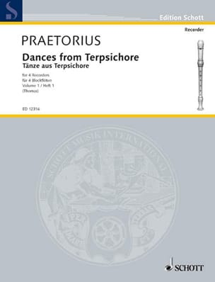 Dances from Terpsichore, Bd 1 Michael Praetorius laflutedepan