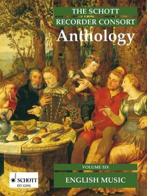 - The Schott Recorder Consort Anthology, Bd 6 - Sheet Music - di-arezzo.co.uk