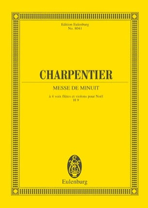 Marc-Antoine Charpentier - Messe De Minuit - Conducteur - Partition - di-arezzo.fr
