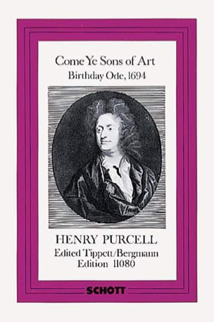 Henry Purcell - Come Ye Sons of Art (1694) – Score - Partition - di-arezzo.fr
