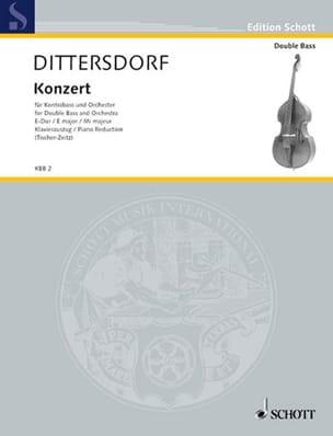 Carl Ditters von Dittersdorf - Konzert E-Dur - Kontrabass - Sheet Music - di-arezzo.co.uk