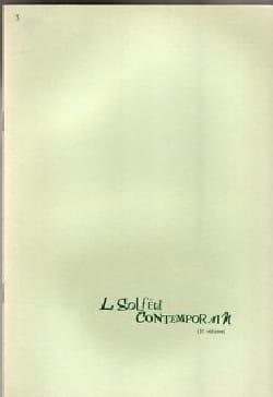 Albert Beaucamp - Le Solfège Contemporain Volume 3 - Elève - Partition - di-arezzo.fr