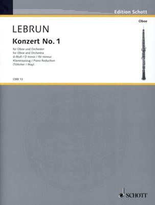 Ludwig August Lebrun - Concerto N ° 1 in D Minor - Sheet Music - di-arezzo.co.uk