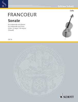 François Francoeur - E-Dur Sonata - Sheet Music - di-arezzo.co.uk