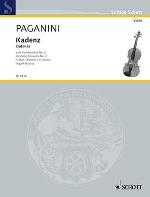 Kadenz zum Violin-Konzert Nr. 2 h-moll - laflutedepan.com