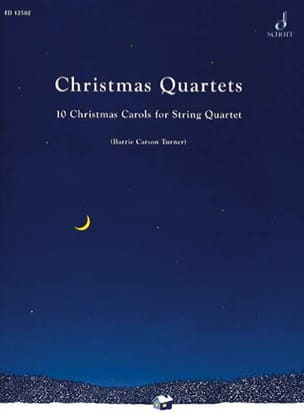 Turner Barrie Carson - Christmas Quartets – Score + Parts - Partition - di-arezzo.fr