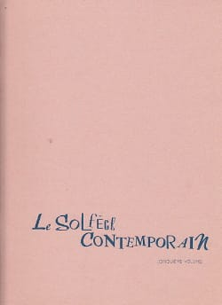Le Solfège Contemporain Volume 5 - Elève Albert Beaucamp laflutedepan