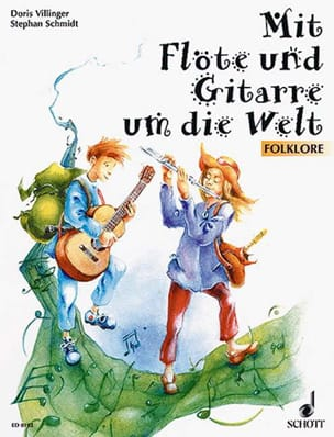 Mit Flöte und Gitarre um die Welt - Partition - di-arezzo.fr