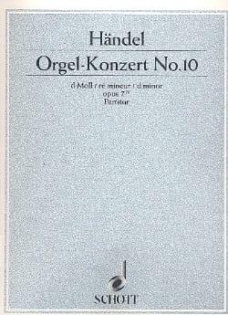 Orgel-Konzert Nr. 10 d-Moll op. 7/4 - HAENDEL - laflutedepan.com