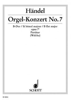 Orgel-Konzert Nr. 7 B-Dur op. 7/1 – Partitur - laflutedepan.com