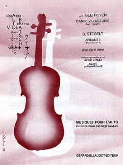 Beethoven Ludwig van / Steibelt D. - Danse villageoise / Andante - Partition - di-arezzo.fr