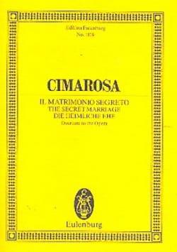 Die Heimliche Ehe - Ouverture - Domenico Cimarosa - laflutedepan.com