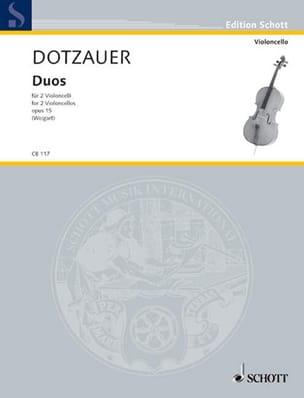 Friedrich Dotzauer - Duos op. 15 - Sheet Music - di-arezzo.co.uk