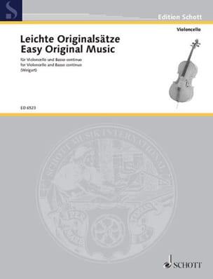 Leichte Originalsätze - Cello - Bernhard Weigart - laflutedepan.com