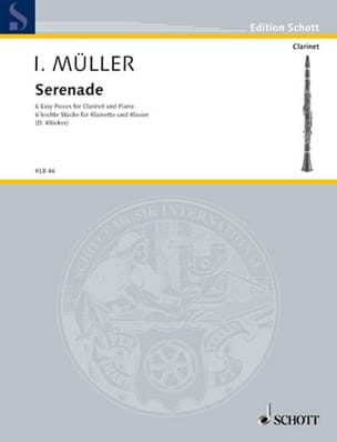 Iwan Müller - Serenade - Clarinet and Piano - Sheet Music - di-arezzo.co.uk