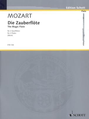Die Zauberflöte MOZART Partition Flûte traversière - laflutedepan