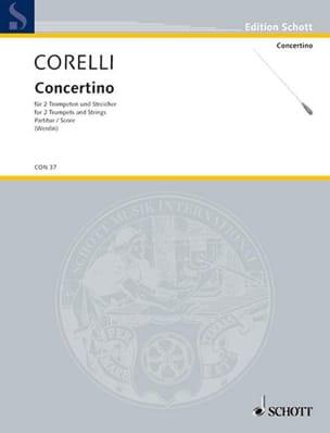 Concertino - CORELLI - Partition - laflutedepan.com
