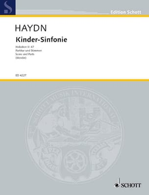 HAYDN - Kinder-Sinfonie - Partitur Stimmen - Sheet Music - di-arezzo.co.uk