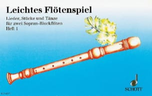 Eberhard Werdin - Leichtes Flötenspiel - Heft 1 - Sheet Music - di-arezzo.co.uk
