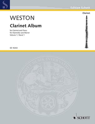 Clarinet album - Volume 1 Pamela Weston Partition laflutedepan