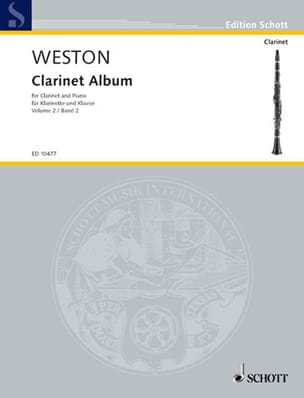 Clarinet Album - Volume 2 Pamela Weston Partition laflutedepan