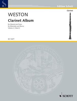 Pamela Weston - クラリネットアルバム - 第2巻 - 楽譜 - di-arezzo.jp