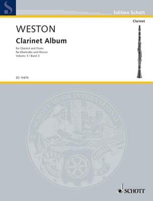 Clarinet Album - Volume 3 - Pamela Weston - laflutedepan.com