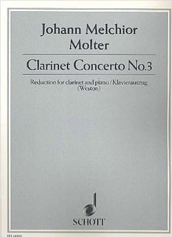 Klarinetten-Konzert Nr. 3 Johann Melchior Molter laflutedepan