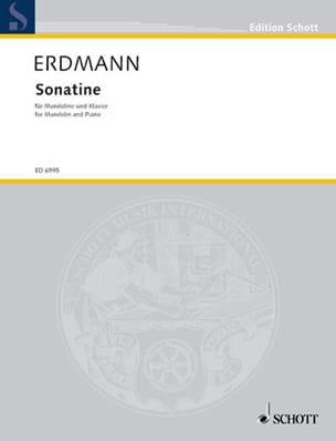 Dietrich Erdmann - Sonatine - Partition - di-arezzo.fr