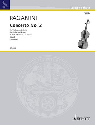 Niccolò Paganini - Violin Concerto No. 2 If Minor Opus 7 - Sheet Music - di-arezzo.co.uk